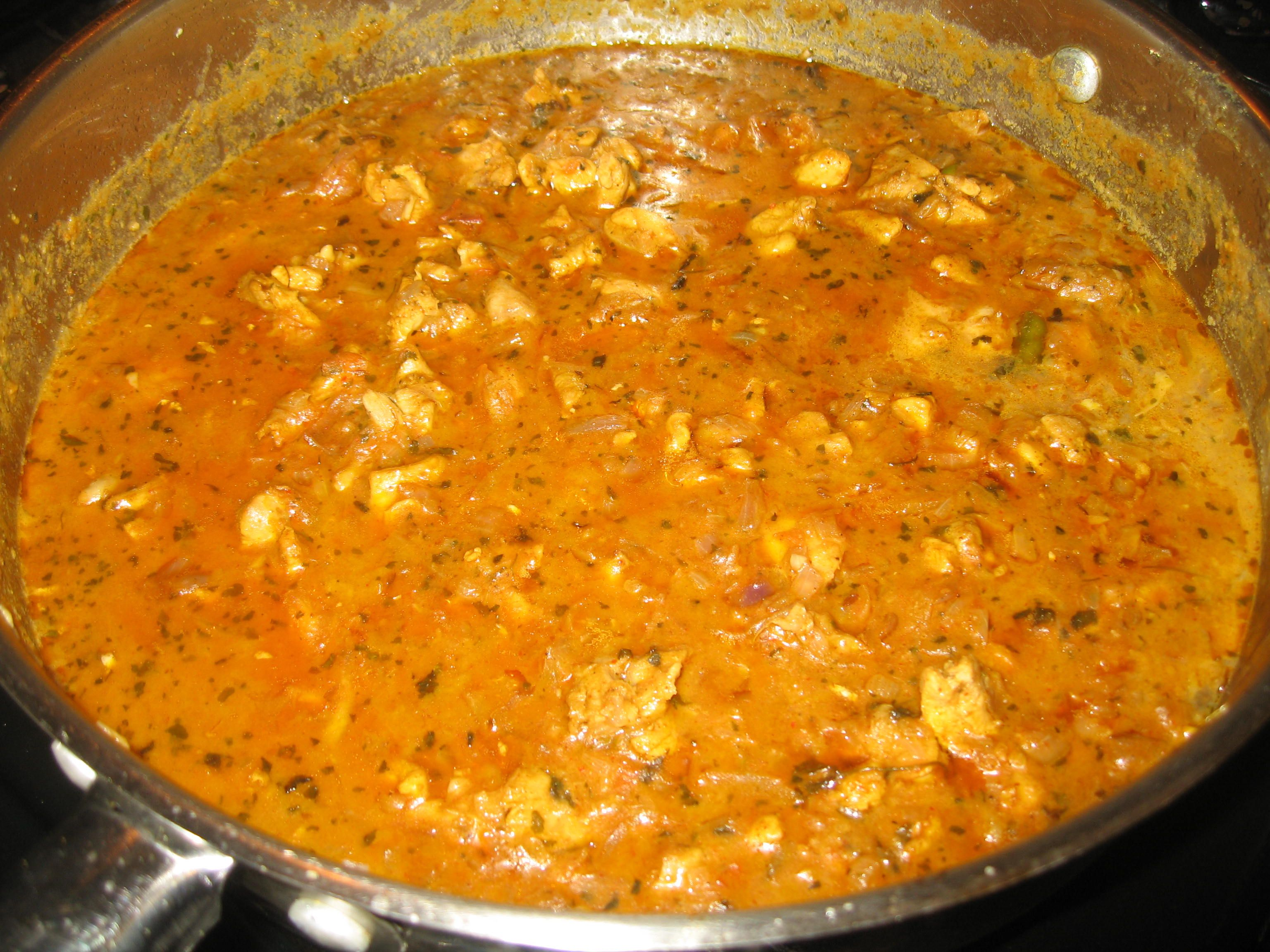 spicy chicken curry south - photo #25